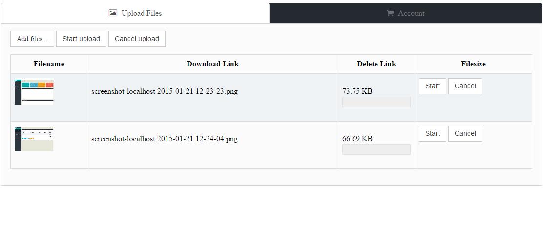 PHP GZ File Uploader