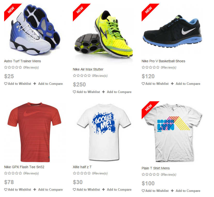 GZ Shopping Cart screenshot