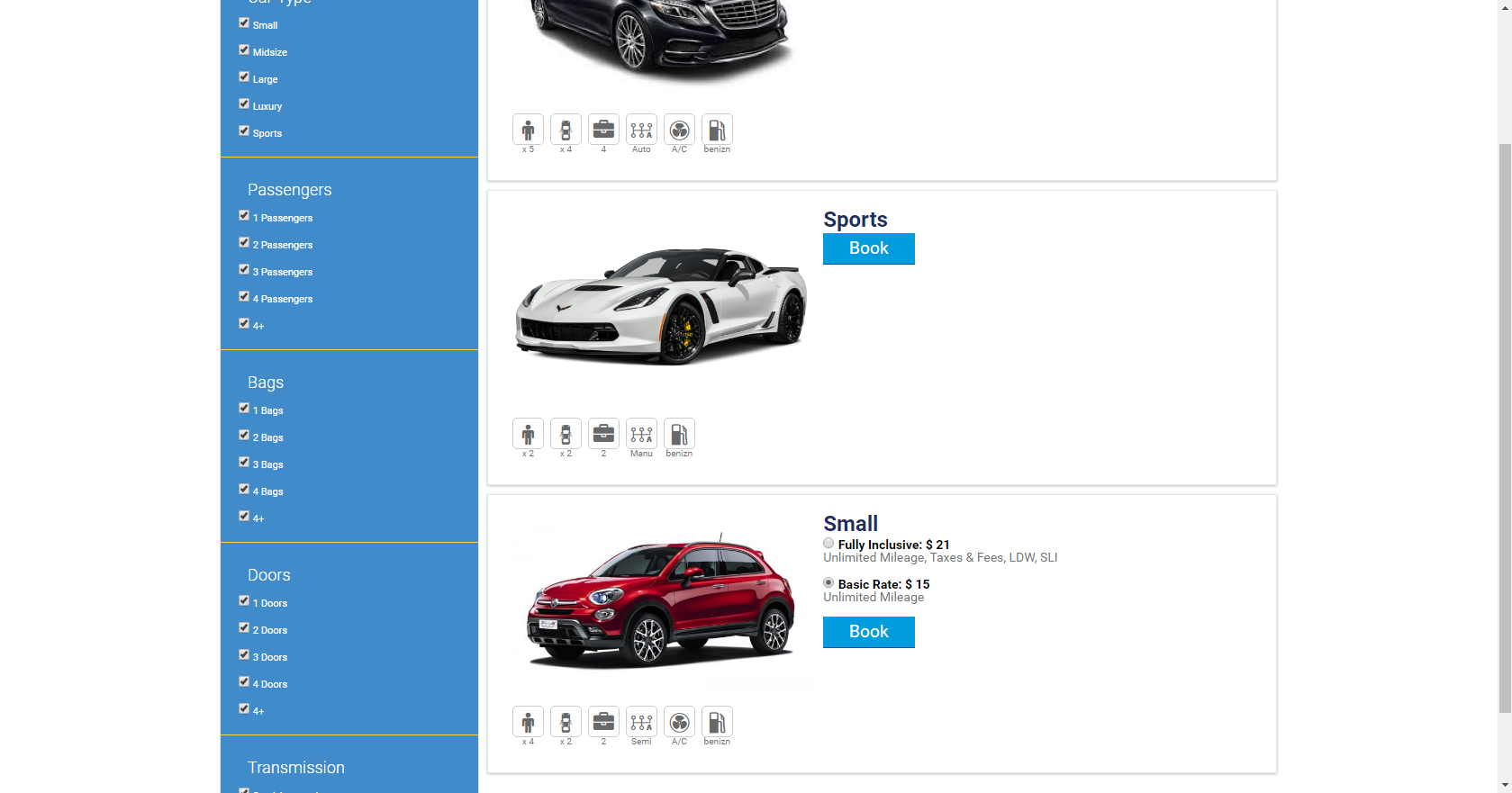 Car Rental Quotes Car Rental Php Script  Php Script